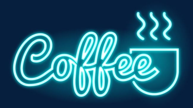 Cafe Neon Night Neon Light Light Png And Vector With