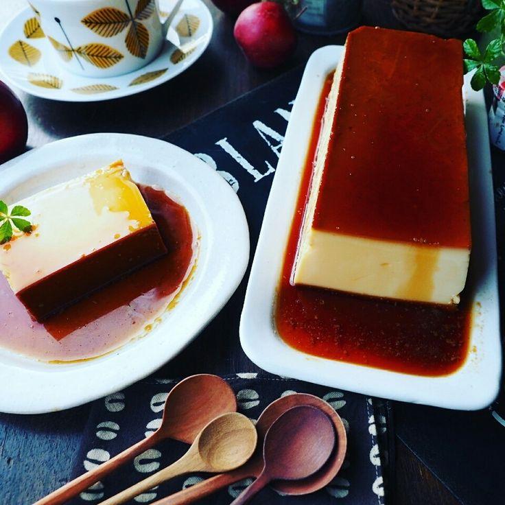 やっぱりプリンは美味しいね~❤昭和のかほり♪卵たっぷりシンプルカスタードプリン♪ | しゃなママオフィシャルブログ「しゃなママとだんご3兄弟の甘いもの日記」Powered by Ameba
