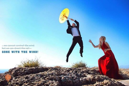 Gone with the wind! #destination #wedding #photographer #quotes