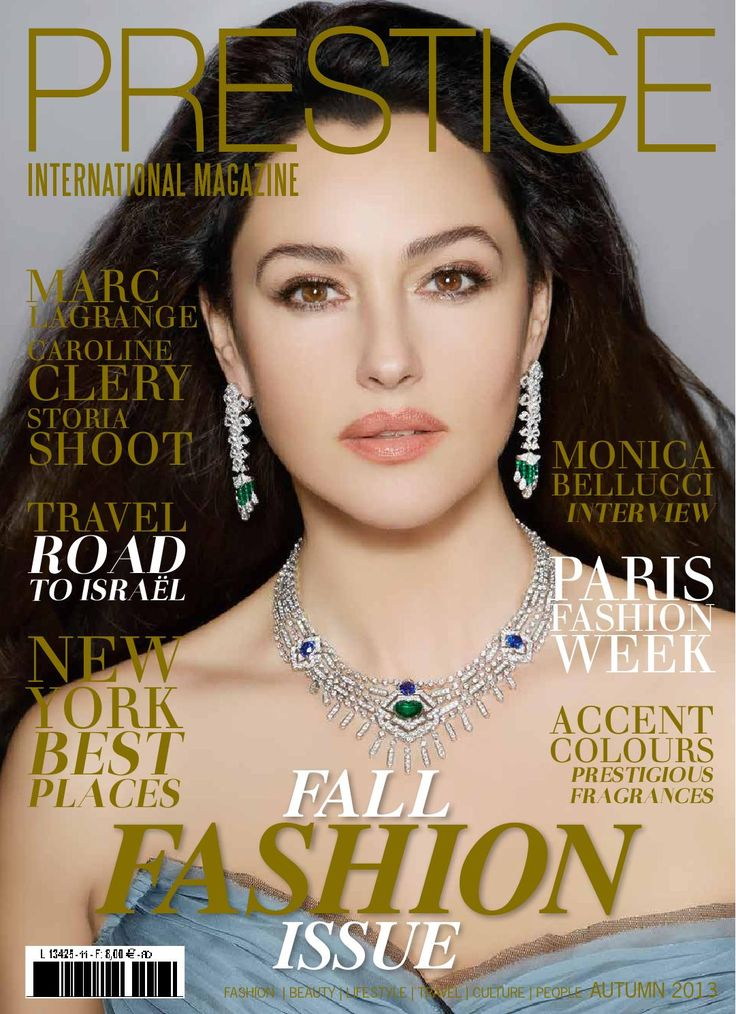 Prestige International Magazine is a quarterly high end, luxury lifestyle magazine showcasing the best of haute couture, jewellery, celebrity and exclusive events , Sales in Newsstands in 10 country : France, Italie, Espagne,Belgique,Luxembourg,Suisse,Canada,New York and soon next issue in décember: Miami, Dubai,Singapour,Hong Kong, Los Angelès.
