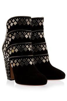 Alaia. Hmmm...a car or these?: Rosie Huntington Whiteley, Shoes, Alaïa Studs, Alaia Studs, Studs Su, Ankle Boots, Azzedine Alaia, Alaia Boots, Zip Ankle