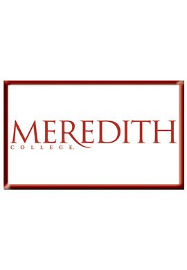 Product: Meredith College 2.2''x3.6'' Dome Magnet