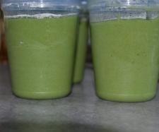 Rezept Spinat-Kartoffel-Hänchen Brei mit Zucchini ab 6./7. Monat von Cindy86 - Rezept der Kategorie Baby-Beikost/Breie