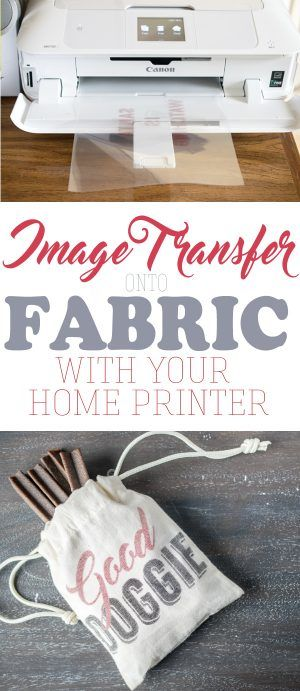 How to transfer an image onto fabric, especially if you cannot print an image directly on the fabric. Transferring an image or text with just your home printer is easier than you might believe.