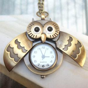 24 best pocket watches images on pinterest pocket watch pocket fashion copper open wing owl pocket watch necklace pendant vintage style want mozeypictures Images
