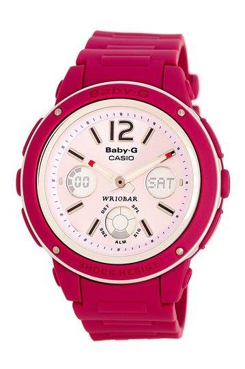 Baby G Women's Pink Watch by Garrity Enterprises on @HauteLook