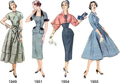 Tuppence Ha'penny: {Vintage for Beginners} 20th Century Fashion Eras