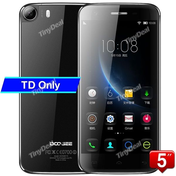 "Presell DOOGEE F3 5\"" IPS OGS HD MTK6753 Octa-core 64-bit Android 5.1 4G LTE Phone 13MP SAMSUNG CAM 2GB RAM 16GB ROM P05-DGF3"