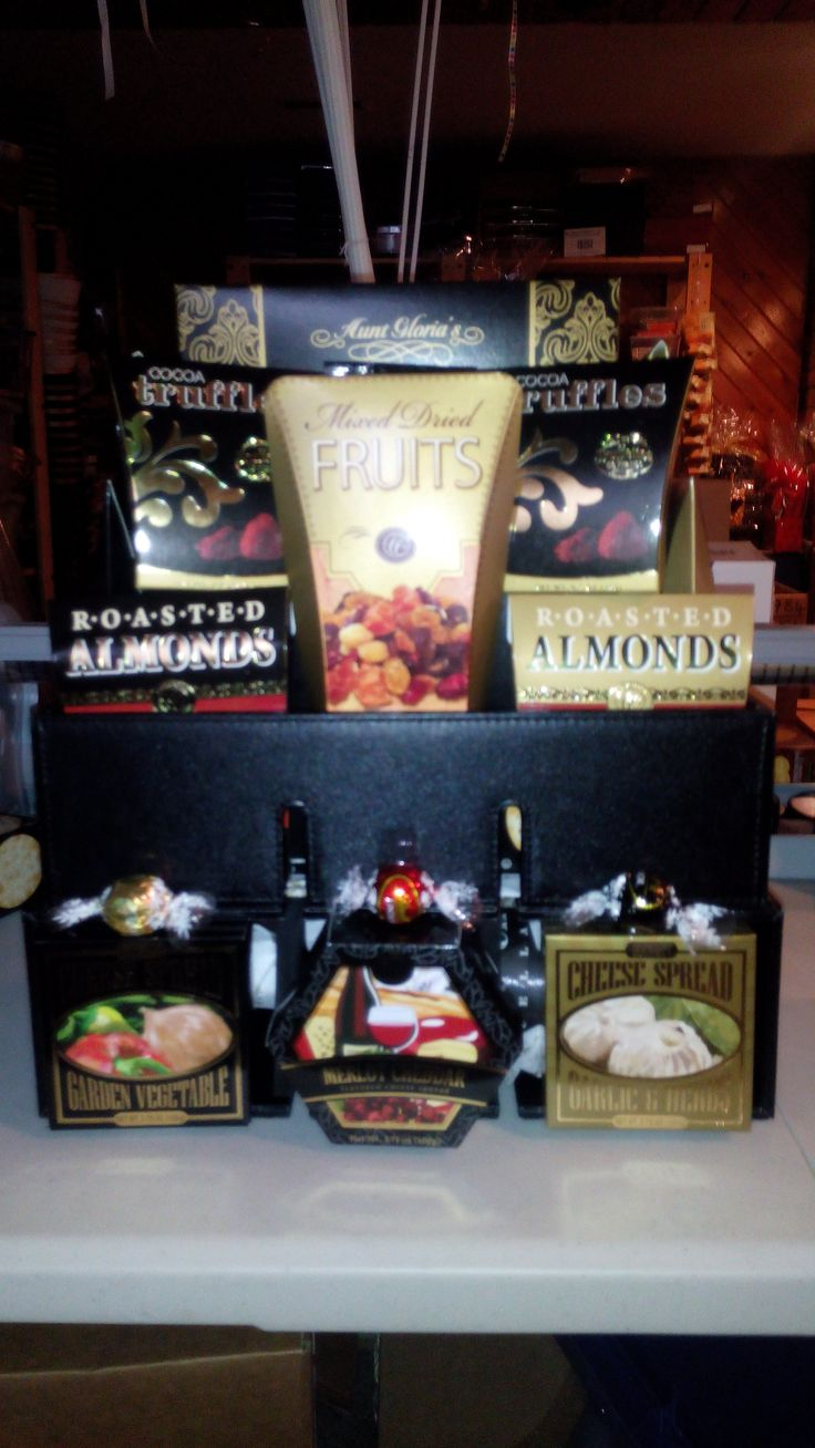 #Wine Partner #Basket #Gift Baskets #Weddings #Anniversaries  #showers #Local #Ottawa #Canada #Gifting #Gift #Ideas converts to a a #WineRack, Savory Treats, #Brie Cheese Spread, #Gourmet Peanuts #Truffles #Trail Mix, Your choice of a bottle of Red or White, can change the color themes. $115.00 plus 10.00 to include a bottle of Wine.