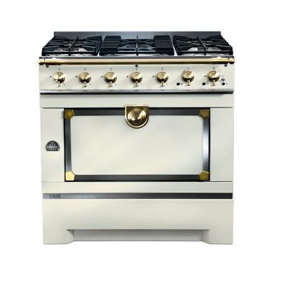 La cornue cornuf 1908 stove ivory williamssonoma only 10k ha i can dream for the home - La cornue kitchen designs ...