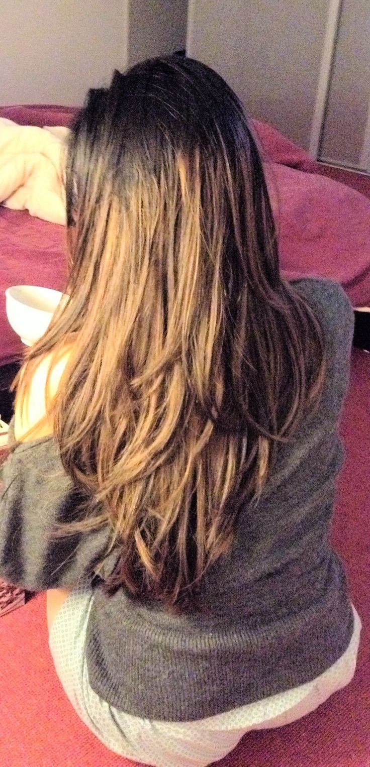 long ombre hair styles layered ombre hair from brown to lighter 4420 | 6d3c2a3760d2d304aa487d63ff10ce79