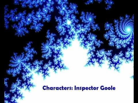 An Inspector Calls - The Charecters - Inspector Goole