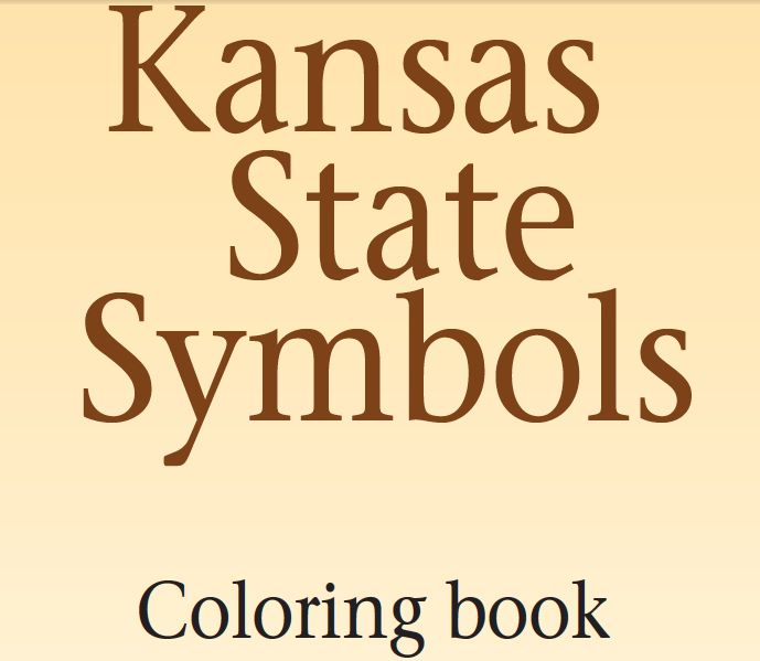 Pin by michaele sommerville on kansas pinterest for Kansas state symbols coloring pages