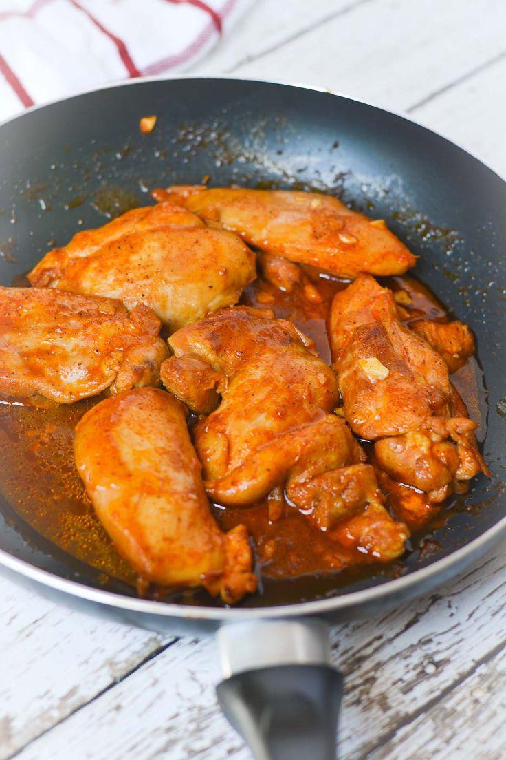 30-minute Spicy Korean BBQ Chicken