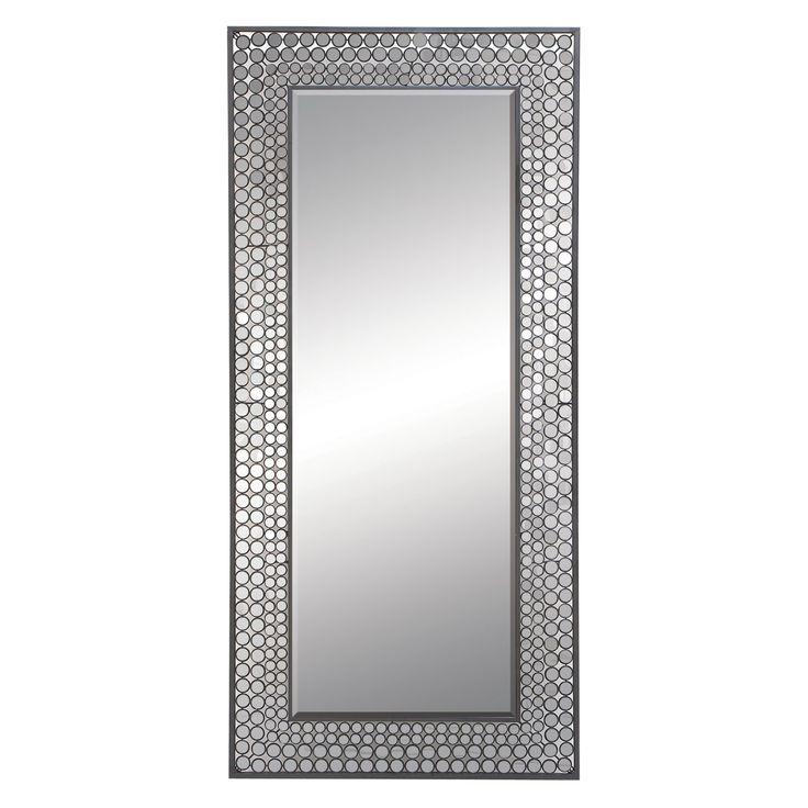 DecMode Contemporary Mosaic Tile Wall Mirror - 66747