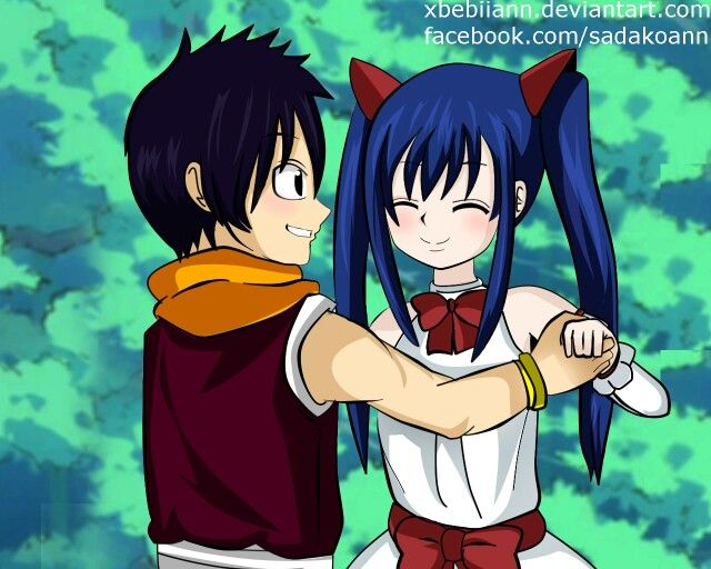 Romeo and Wendy. I ship it because he's a little Natsu and she's a little Lucy, and Nalu is totally happening