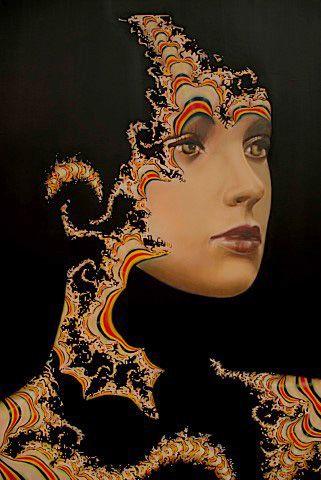 """Carla Bresciano, oil on canvas """"Epidermis"""""""
