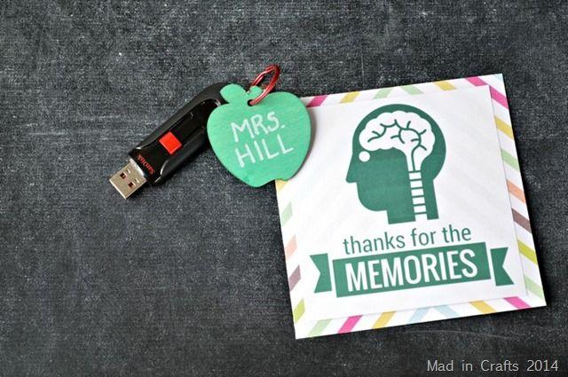 Teacher Gift with Printable Card
