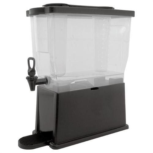 Clear 3 Gallon Beverage Dispenser Need a way to serve cold drinks on a buffet line? Check out Service Idea's cold beverage dispenser which includes 2 tubes: an Infuser Tube for drink customization and