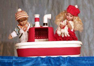 """Кукольный спектакль """"У самого синего моря"""" #kvantil-event"""
