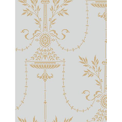 Cole & Son Dorset Wallpaper, Blue / Gold, 88/7031 johnlewis.com £70 / sq m