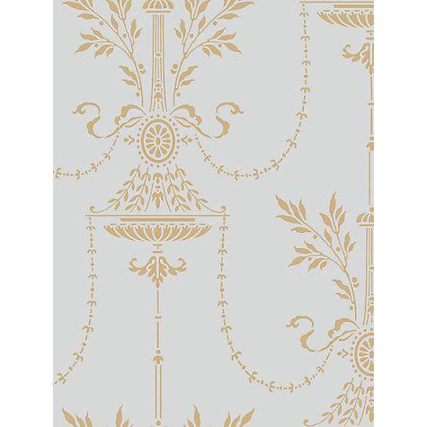 Cole & Son Dorset Wallpaper, Blue / Gold, 88/7031 johnlewis.com £70 / sq m