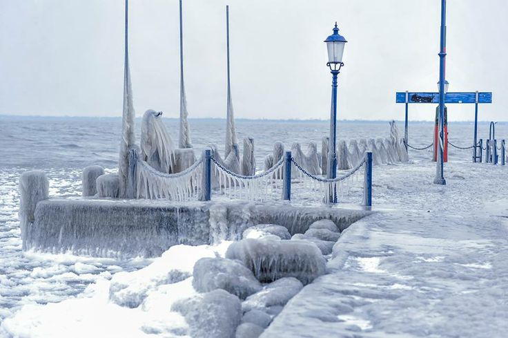 lake Balaton winter