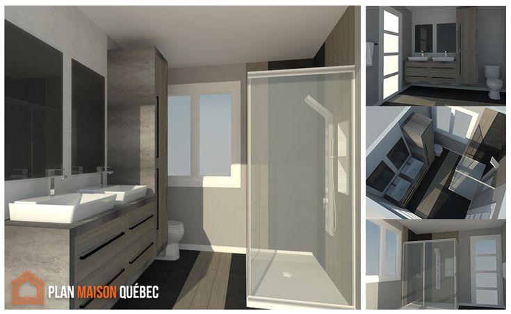 Pour concevoir vos plans de r novation et perspective 3d - Concevoir salle de bain ...