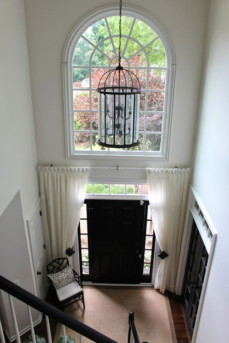 Blinds For Large Foyer Window : Best ideas about sidelight curtains on pinterest