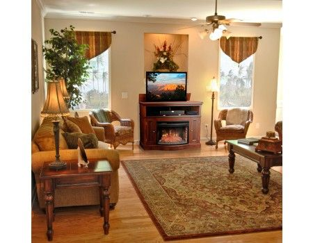 3 in 1 conceal your tv add style and add warmth when needed