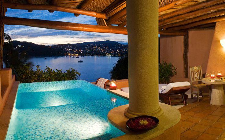 La Casa Que Canta, Pool Suite, Zihuatanejo, Mexico