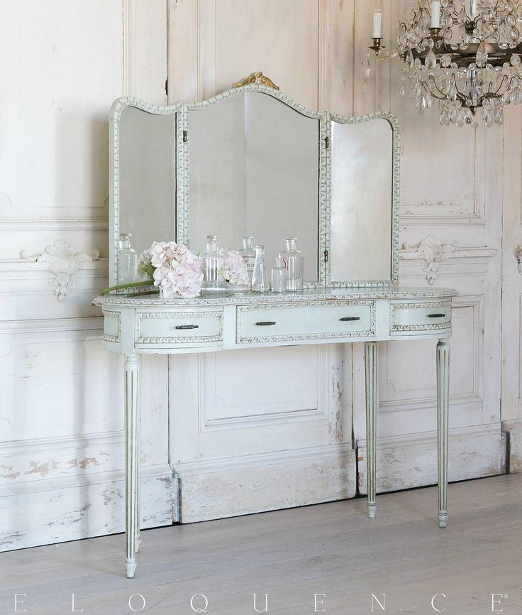 Eloquence One of a Kind Vintage Vanity Tri-Fold Mirror - Best 25+ Tri Fold Mirror Ideas On Pinterest Dressing Mirror