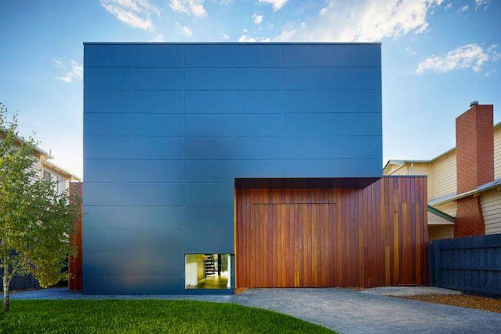Modscape, Northcote Home, Australia, Alucobond Aluminum Composite, Residential Architecture