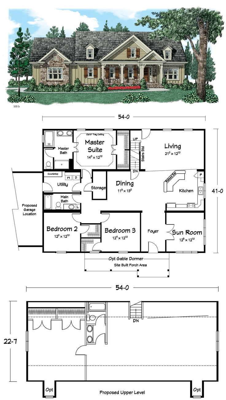 48 best house plans images on pinterest dream house plans house an open plan with lots of room for customization