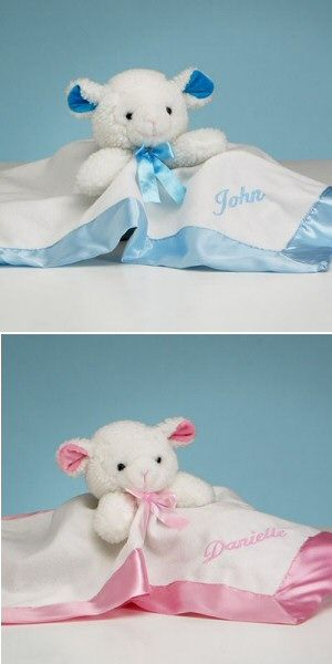 27 best baby blankets images on pinterest personalised baby buy this personalized lamb snuggly blanket from all about gifts and baskets today negle Choice Image