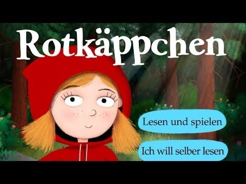 Clases de Alemán Perú: Rotkäppchen App (Carlsen) Vorschau Video   Beste Kinder Apps