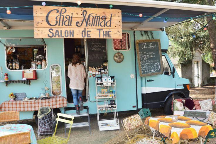 Chaï Nomad, le food truck salon de thé – Les Capricieuses