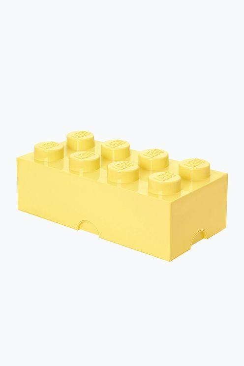 Inreda med LEGO eller samla allt ditt lego i dessa praktiska förvaringsboxar? Javisst! Med förvaringsboxar och papperskorgar i alla de klassiska legofärgerna. Perfekt för barnkammaren men egentligen snyggt, och praktiskt, i vilket rum som helst. Alla klossar och huvuden är kompatibla och kan byggas ihop, tillverkade av plast.<br><br>Mått: 25 x 50 x 18 cm  <br><br>