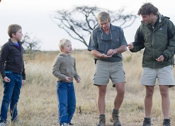 Walking #safari at Elephant Rock Lodge http://www.nambiti.com/explore-game-lodges/