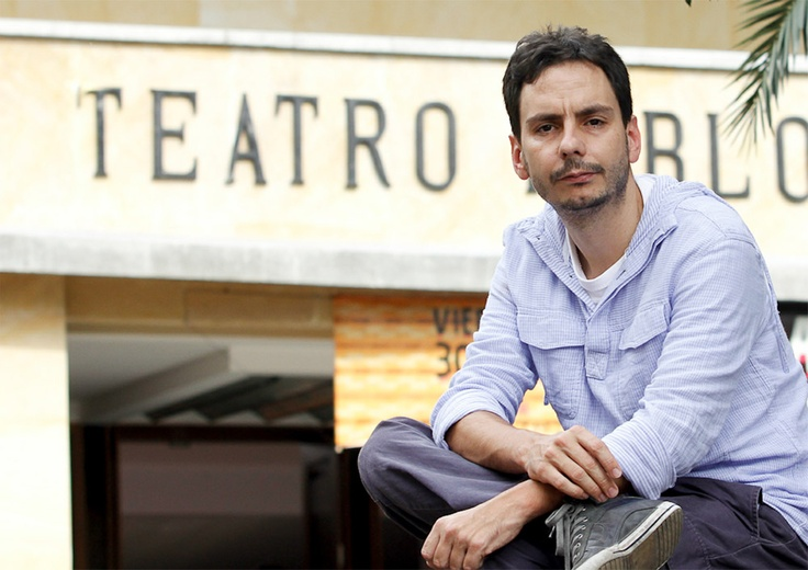 Sergio Restrepo. Director del Teatro Pablo Tobón Uribe.