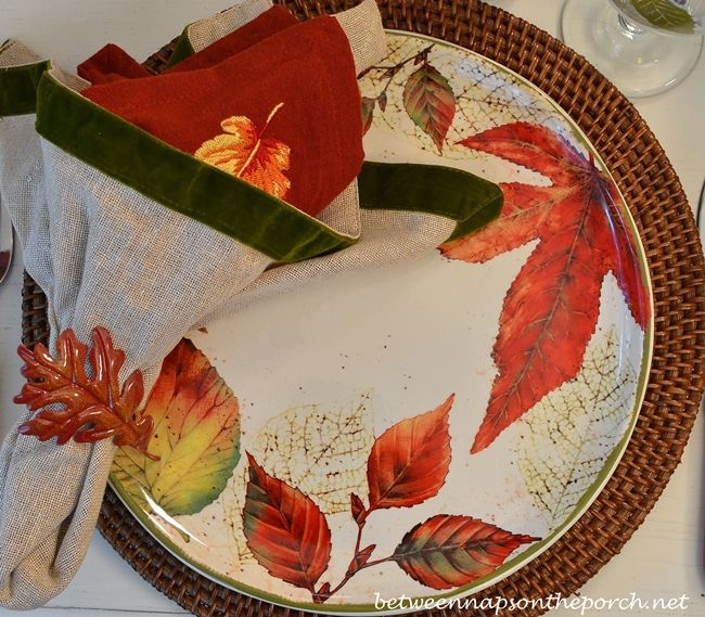 116 best Fall Table Settings images on Pinterest | Thanksgiving ...