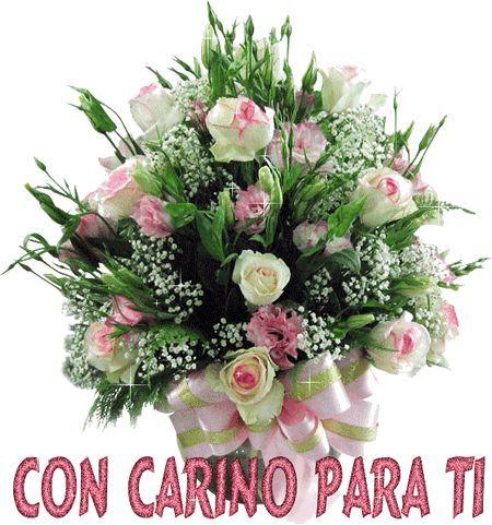 Gif de ramos de rosas para felicitar | todo en imágenes