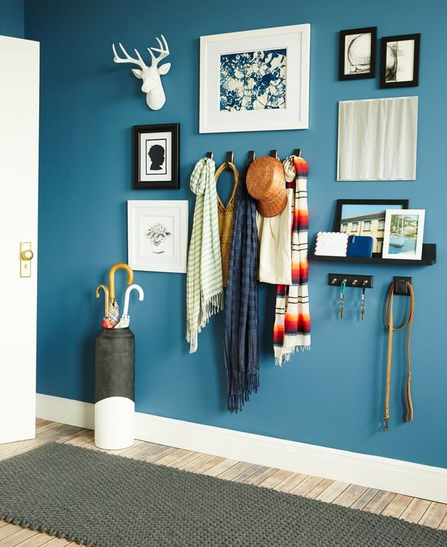 We ask a lot of the entryway: As a landing strip, it does the double duty of filtering what junk is better kept out of the house (stuff like mud and pocket doodads) while also keeping together everything you need to exit (like keys and umbrella). But that's only half its job! The entryway is also tasked with making a home's first and last impressions. That's a lot to do in a little space! So how do you do it?