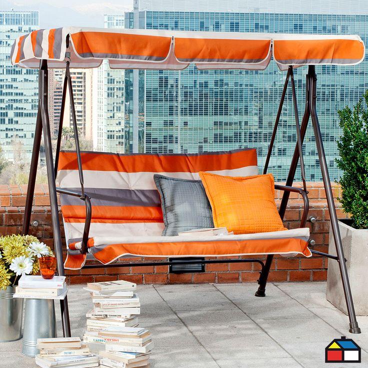 Sillón columpio Córcega #terraza #jardin mi sueño deseo tener uno son comodos hermosos ideales para un lindo dia