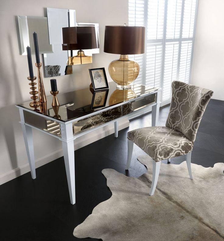 Biurko Egiza, krzesło Gaja, lustro Mimi - Novelle