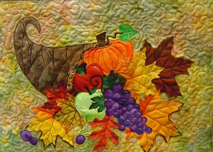 11 best Thanksgiving Quilts images on Pinterest   Fall quilts ... : thanksgiving table runner quilt patterns - Adamdwight.com