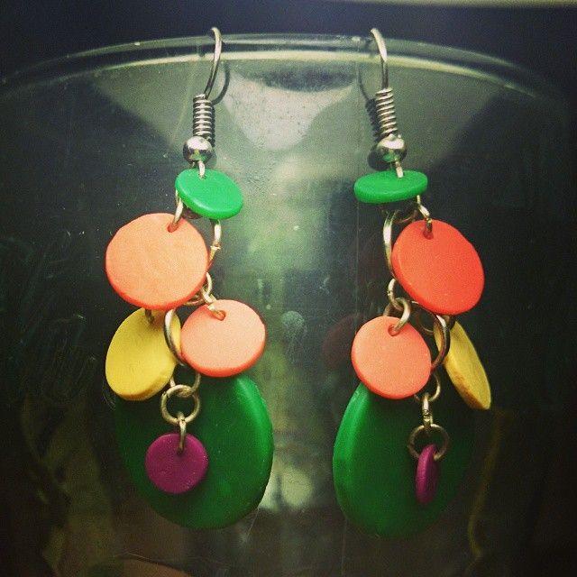 серьги; материал: полимерная глина, металл. #серьги #хендмейд #handmade #earrings #украшения #украшенияручнойработы #handmadejewelry #jewelry #jewellery #polymerclay #полимернаяглина