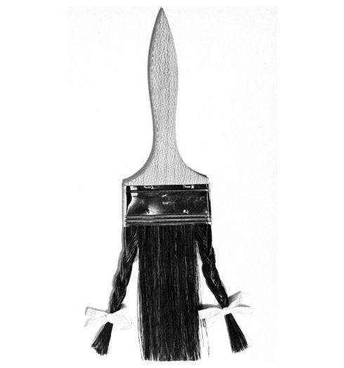"""Oggetti - La Pennellessa"" (""Toys - The Flat Brush""   Photographer: Bruno Munari,1970"