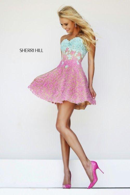 Grandiosos vestidos cortos de fiesta de 15 años | Vestidos de Quince años