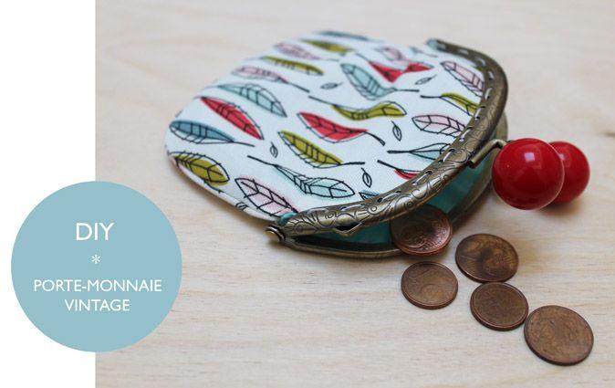 DIY: porte-monnaie vintage - innamorata